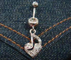 Bling Note Heart Lov..