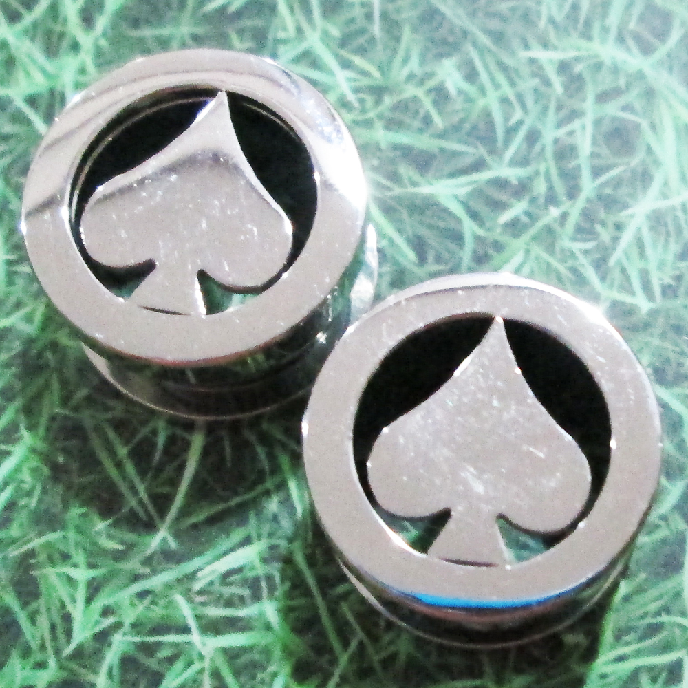9/16 Screw Flesh Tunnels Ear Plug Rings Tunnel Body Piercing GIFT